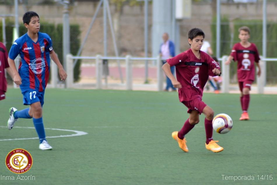 Futbol base en Yecla (1)